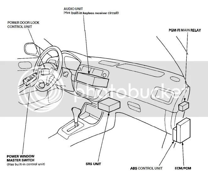 Diagrams Honda D16z6 92