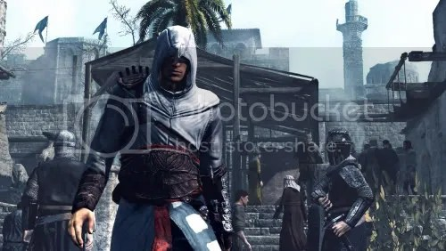 Explore lush environments as the reckless young assassin, Altair.
