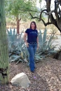 DesertMama wearing Joe's Jeans in the Arizona Desert  copyright 2008 Beth Blair