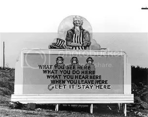Monkey Billboard by Ed Westcott, courtesy of Oak Ridge CVB