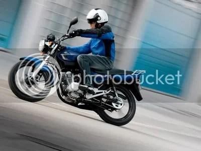 Yamaha YBR 125 yang dipasarkan di kawasan Eropa.