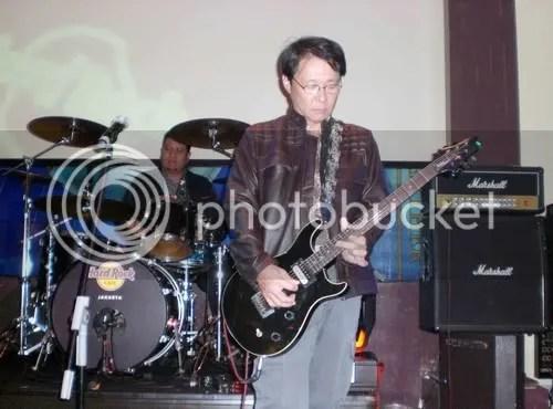 Miki Yamamoto, Presiden Direktur AHM, nge-Blues di Hard Rock Cafe, Jakarta.