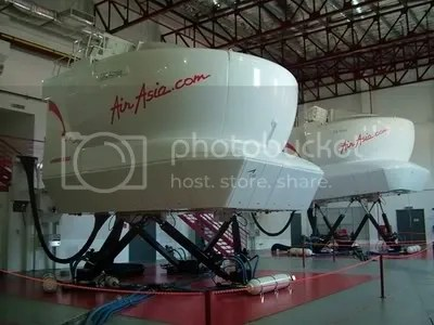 Simulator AirAsia