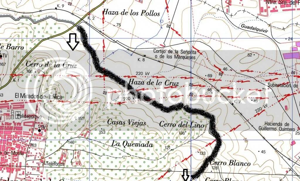 07 Carretera Santiponce a Valencina- Alto del Cerro Blanco
