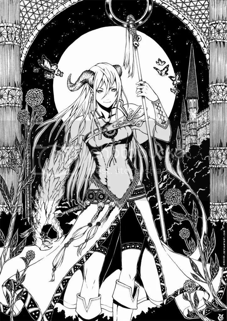 Chica demonio final