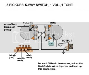 Add a 3way toggle to switch between capacitors: How