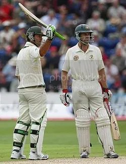 Ponting and Katich seized control on day two