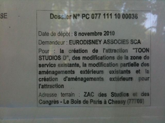 Ratatouille au parc walt disney studios 2014 for Trouver un permis de construire sur internet
