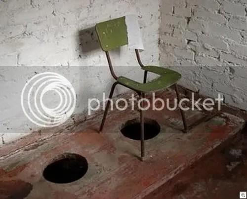 redneck toilet