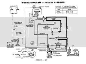 C160 wiring diagram  Wheel Horse Tractors  RedSquare