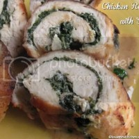 Chicken Roulade with Spinach