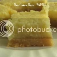 Best Lemon Bars - EVER!