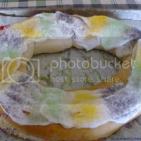Strawberry and Cream Cheese King Cake