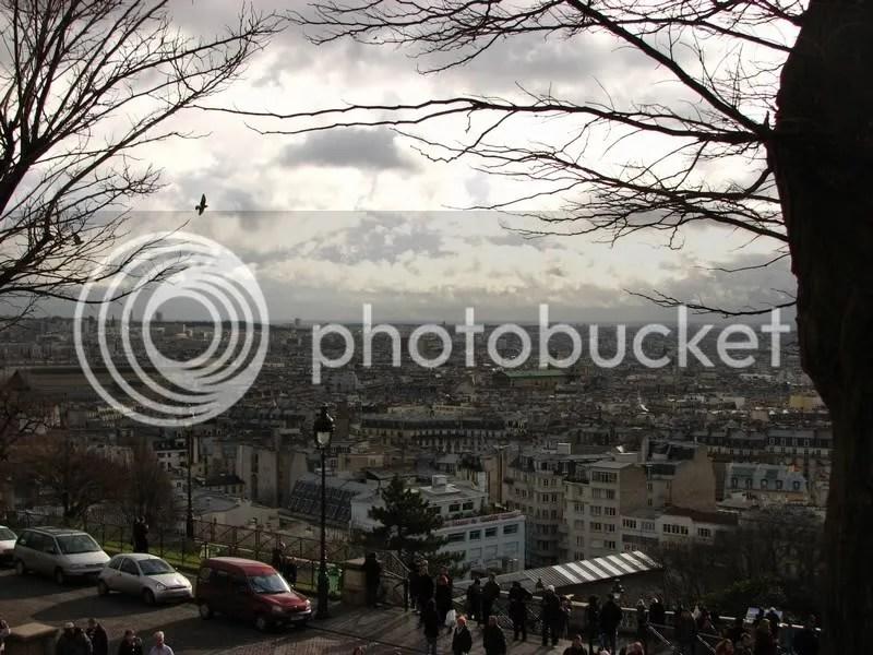 Parisul vazut de sus