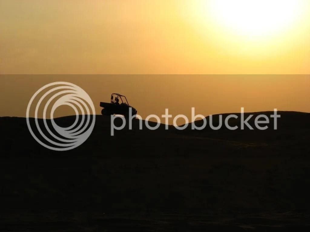 cu atv-ul pe dune