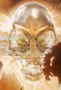 Crystal Skull by Ronan The Kid