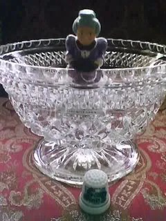 Granny In A Crystal Bowl by Renee Ashley Baker