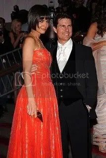 Tom and Katie at the 2008 Costume Institute Gala