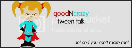 Goodncrazy Tween Talk superhero girl