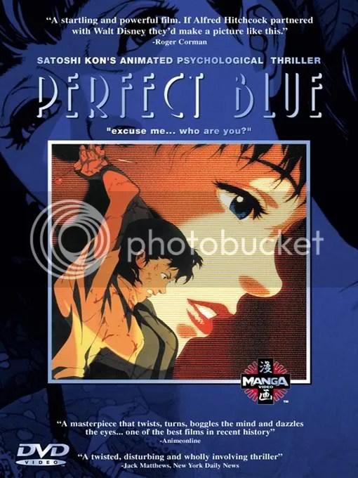 Movie Spotlight Perfect Blue Silver Peace