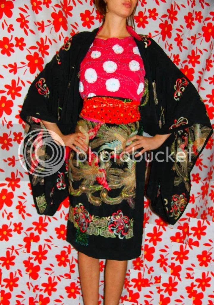 """Muy Marcottage """"Mottainai"""" kimono tailleur 03"""