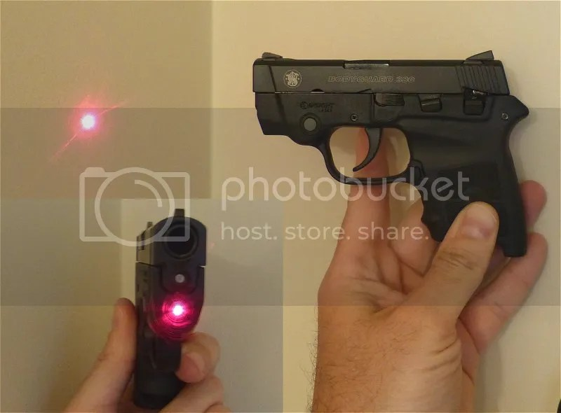 The Bodyguard 380 has full size service gun accuracy in a ...