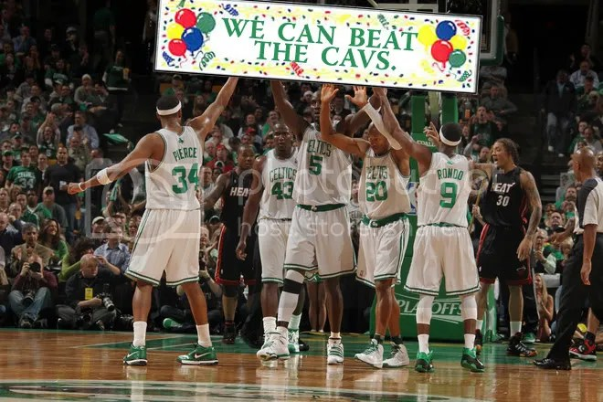 Yes: the Celtics can.