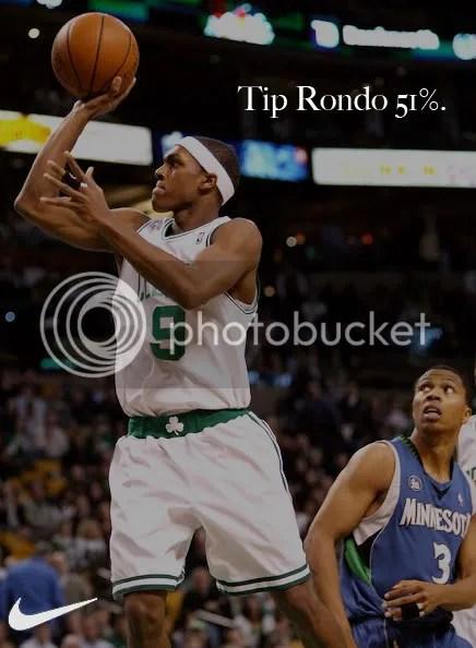 Tip Rondo 51%.