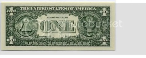 dollar bill photo: Dollar Bill before dollarback.jpg