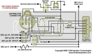 Ford Remote TFI To Holley EFI Wiring Help
