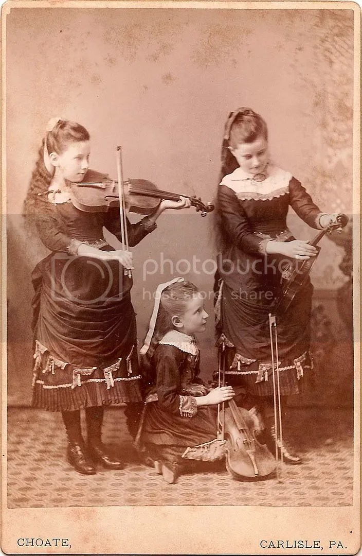 Celeste Tumulte, Three Girls and Their Violins
