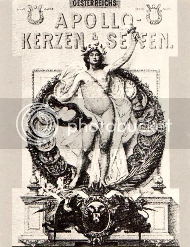 Erste österreichische Seifensieder-Gewerks-Gesellschaft Apollo, Apollo Kerzen und Seifen, 1899