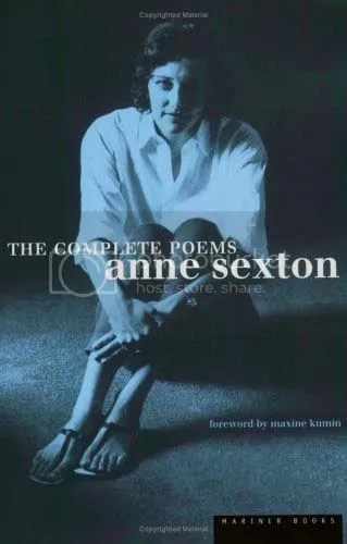Cover Anne Sexton, The Complete Poems. With a foreword by Maxine Kumin, Mariner Books 1999
