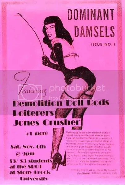 Bettie Page, Dominant Damsels