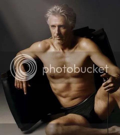 Frank Schätzing als Mey Bodywear Unterhosenmodel
