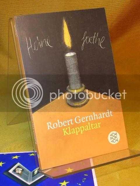 Robert Gernhardt, Klappaltar. Aufsteller Antikbuch24