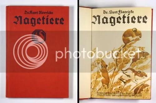 Dr. Kurt Floericke, Nagetiere. Bei uns und draußen, 1932
