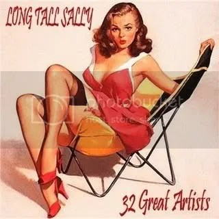 Cousin Mike, CD cover 32 Great Artists Long Tall Sally