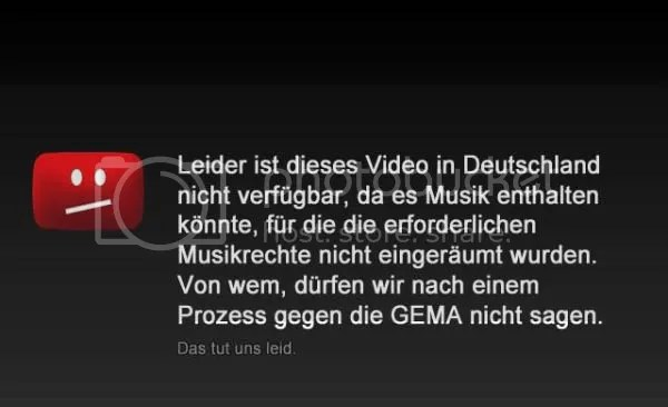 Leider ist dieses Video in Deutschland nicht verfügbar, da es Musik enthalten könnte, für die die erforderlichen Musikrechte nicht eingeräumt wurden. Von wem, dürfen wir nach einem Prozess gegen die GEMA nicht sagen.