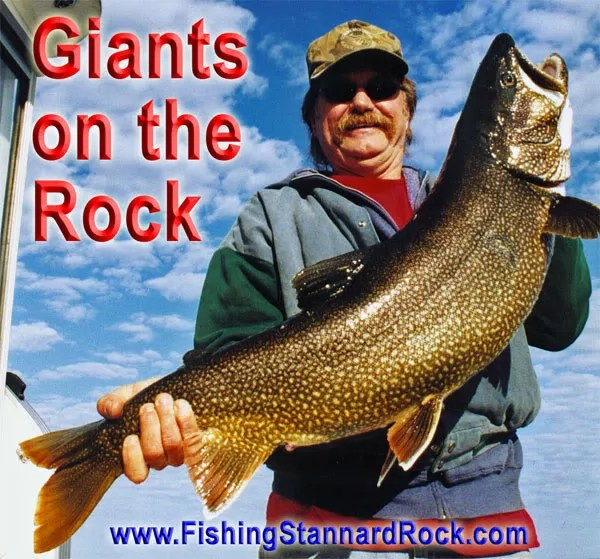 Giants of the Rock Trophy Red Fin Lake Trout on Light Tackle