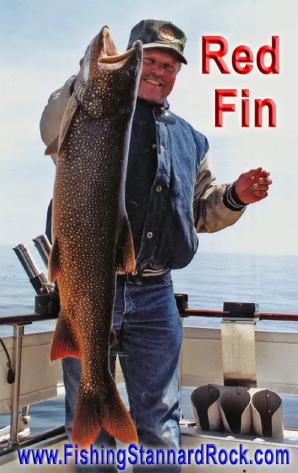LahtiRedFin Trophy Red Fin Lake Trout on Light Tackle