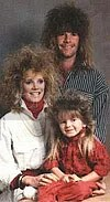 big hair family