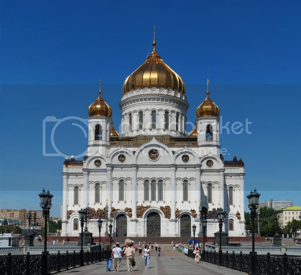 Christ the Saviour Cathedral - Moscow