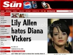 The Scum (as my brother affectionately names it) chooses to report Allens distaste of Diana