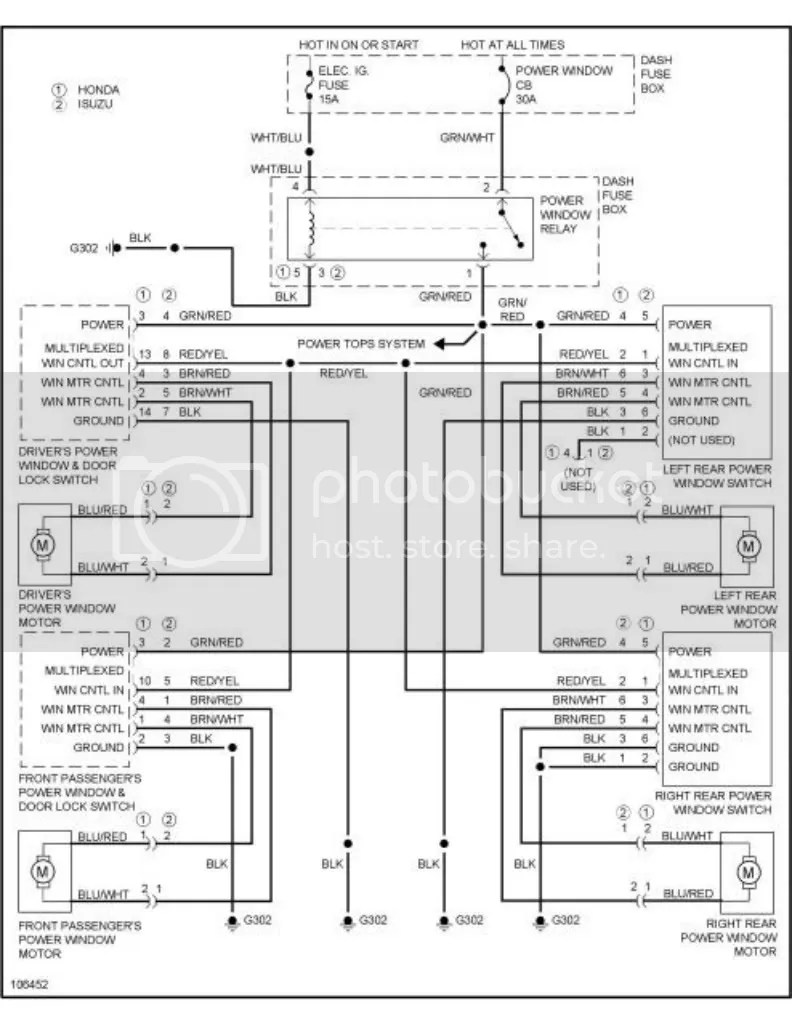 1997 isuzu rodeo fuse box diagram   33 wiring diagram