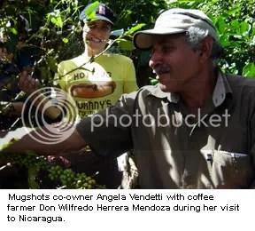 Angela Vendetti and Don Wilfredo Herrera Mendoza in Nicaragua.