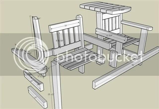 plans for garden bench