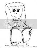 Autoritratto con libro