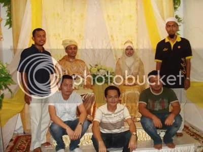 Hakim, Peet, Asyraf, Me, and Amir