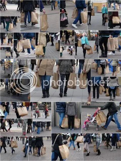 Shopping-Wahnsinn
